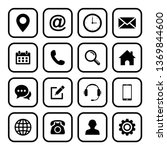 web icon set. set of web icon...