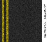 vector asphalt background...   Shutterstock .eps vector #136985099