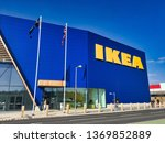 Small photo of New IKEA Store, Greenwich, London, England, April 2019; this is the 22nd UK IKEA Store. IKEA, founded in Sweden in 1943, is the world's largest retailer of ready-to-assemble or flat-pack furniture.