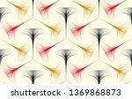 wired guilloche entanglement... | Shutterstock .eps vector #1369868873