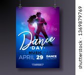 Dance Day Party Flyer Design...