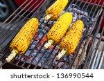 Grilled Corn. 3 4 Vegetables...