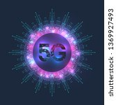 5g network wireless systems and ... | Shutterstock .eps vector #1369927493