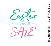 easter sign background | Shutterstock .eps vector #1369933526