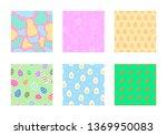 easter background seamless... | Shutterstock .eps vector #1369950083
