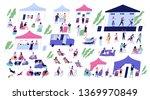 summer indie open air festival... | Shutterstock .eps vector #1369970849