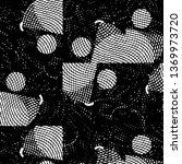 black and white grunge stripe... | Shutterstock .eps vector #1369973720