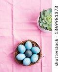 Easter Festive Banner For Text...