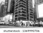 mong kok hong kong    march 19  ...   Shutterstock . vector #1369990706