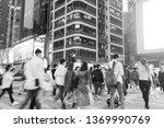 mong kok hong kong    march 19  ...   Shutterstock . vector #1369990769