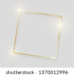 gold shiny glowing vintage...   Shutterstock .eps vector #1370012996