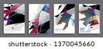 template brochures  flyers ...   Shutterstock .eps vector #1370045660