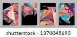 template brochures  flyers ...   Shutterstock .eps vector #1370045693