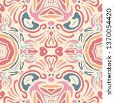 handmade kaleidoscope. bright...   Shutterstock . vector #1370054420