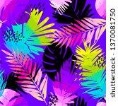 fashion tropics funny... | Shutterstock .eps vector #1370081750
