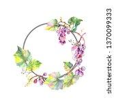 grape berry healthy food.... | Shutterstock . vector #1370099333