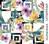 luxury fashion prints with... | Shutterstock . vector #1370099369