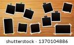 set of polaroid retro photo... | Shutterstock .eps vector #1370104886