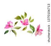 Floral Greeting Card. Floral...