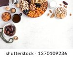 traditional muslim iftar food ... | Shutterstock . vector #1370109236