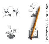 crm   crm  feedback  opinion ...   Shutterstock .eps vector #1370112506