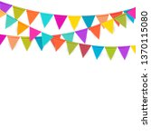 Party Background With Flags...