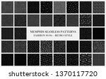 big black vector collection of... | Shutterstock .eps vector #1370117720