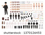 chef  cook  culinary worker ... | Shutterstock .eps vector #1370126453