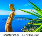 eze village  france   may 06 ... | Shutterstock . vector #1370158250