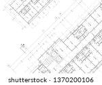 write a blueprint architecture.    Shutterstock . vector #1370200106