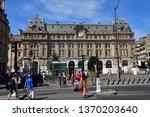 paris  france   april 2 2018  ...   Shutterstock . vector #1370203640
