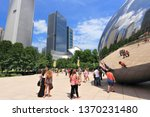 chicago  usa   june 27  2013 ... | Shutterstock . vector #1370231480
