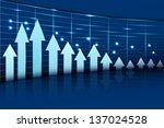 easy to edit vector... | Shutterstock .eps vector #137024528