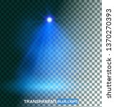 transparent blue light effects...   Shutterstock .eps vector #1370270393