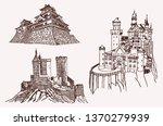 graphical vintage medieval... | Shutterstock .eps vector #1370279939