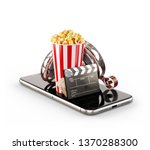 smartphone application for... | Shutterstock . vector #1370288300