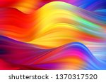 Modern Wavy Colored Background