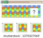 iq test practical questions  ...   Shutterstock .eps vector #1370327069