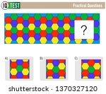 iq test practical questions  ...   Shutterstock .eps vector #1370327120