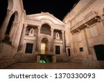 night view of diocletian's... | Shutterstock . vector #1370330093