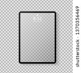 realistic tablet computer... | Shutterstock .eps vector #1370356469