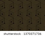 abstract geometric pattern with ... | Shutterstock .eps vector #1370371736