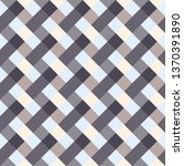 seamless geometric checked... | Shutterstock .eps vector #1370391890