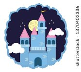 kingdom castle fantasy | Shutterstock .eps vector #1370402336
