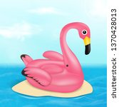 summer vector banner design... | Shutterstock .eps vector #1370428013