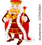 art,beard,card,cartoon,costume,crown,fairy tail,fairytale,gold,heart,history,illustration,king,leadership,lords