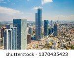 ramat gan skyline at day... | Shutterstock . vector #1370435423