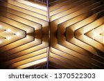 close up photo of wooden lath... | Shutterstock . vector #1370522303