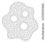 mesh amoeba polygonal 2d... | Shutterstock .eps vector #1370535560