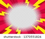 cartoon book comic style... | Shutterstock .eps vector #1370551826